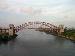 Hell Gate Bridge from the South