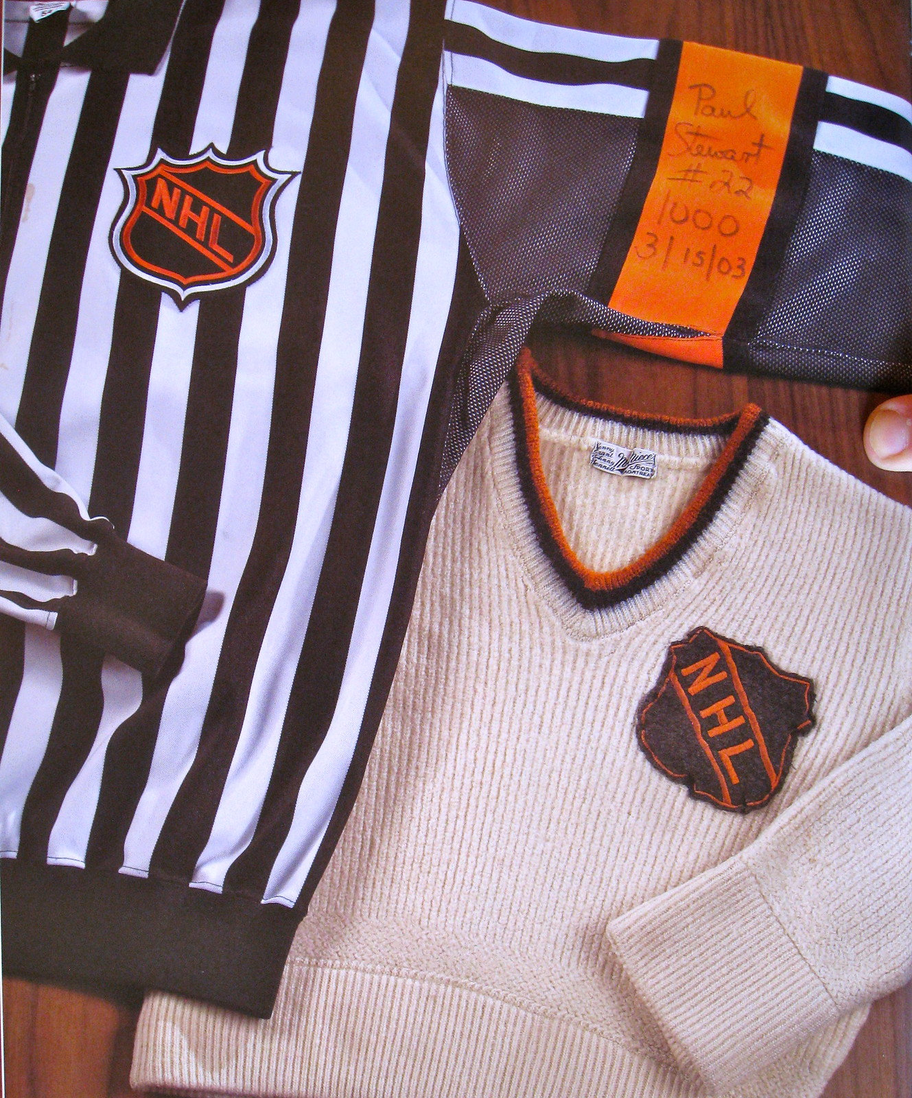 Uni Watch Book Club  The Hockey Hall of Fame Book of Jerseys  2a8532df2