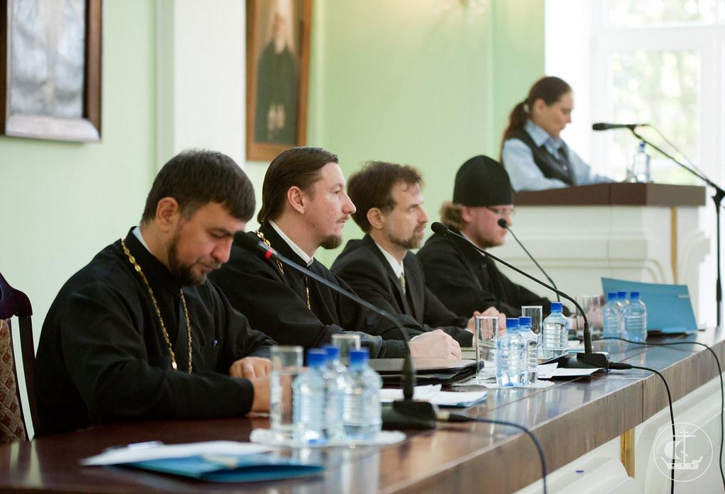 3 октября 2012, Открытие и пленарное заседание IV Международной научно-богословской конференции «Актуальные вопросы богословских исследований»