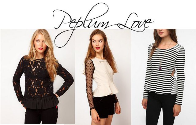 Livingaftermidnite : My Fall 2012 Must Haves : Peplum