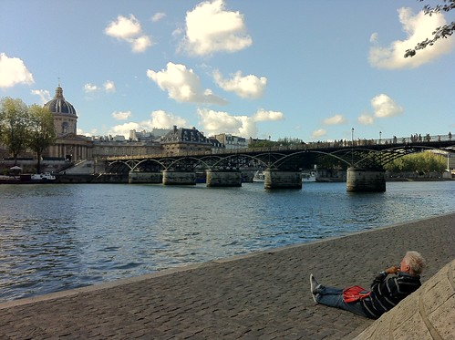 Man at the Seine
