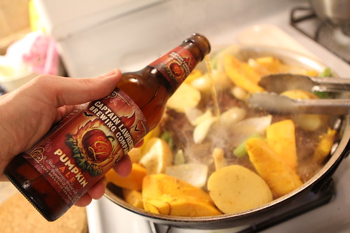 Braised Short Ribs with Captain Lawrence Pumpkin Ale