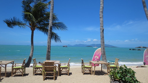 Koh Samui Secret garden beach cafe