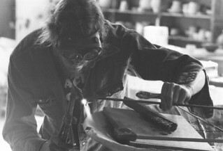Sculpture Class in Rembrandt Hall in 1979