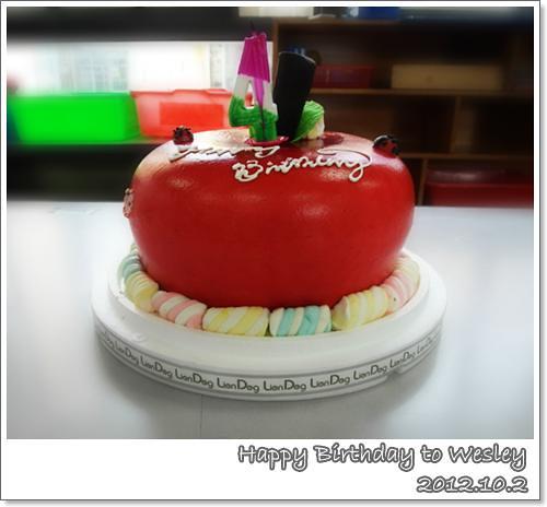121002-四歲的生日蛋糕