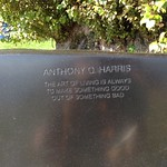 Anthony Q. Harris Memorial Bench