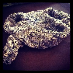 Finished scarf #ravelry #knitgeek #knitting by magependragon