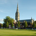 Salisbury Cathedral from Choristers' Square (2)