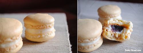 Macarons de mascarpone y membrillo - Bake-Street.com