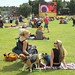 The Olympics big screen on Blackheath