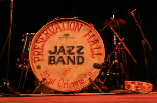 Preservation Hall Jazz Band drum set