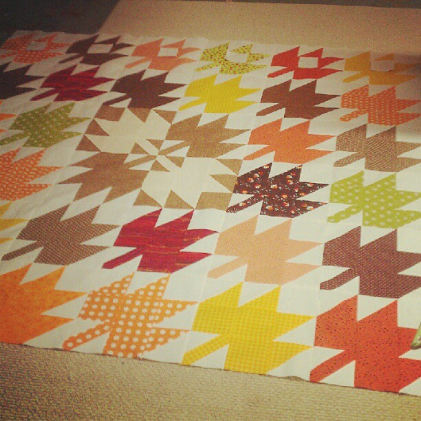 I love making quilts!!