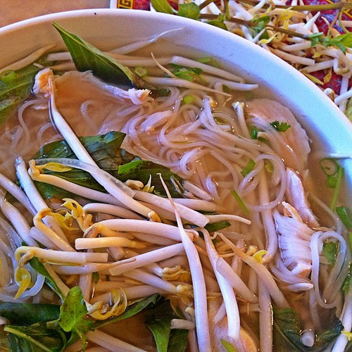 Pho Ga #vietnamese #chicken #noodle #soup #dinner #bamboosong #food #foodporn