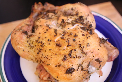 Roast Canadian Thanksgiving Chicken
