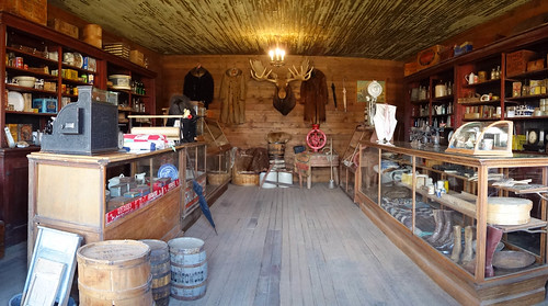 Cody Old trail town - store