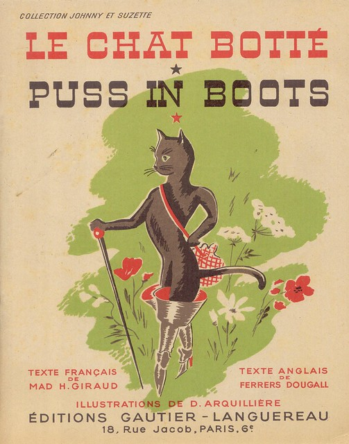 Le chat botté-Puss in boots