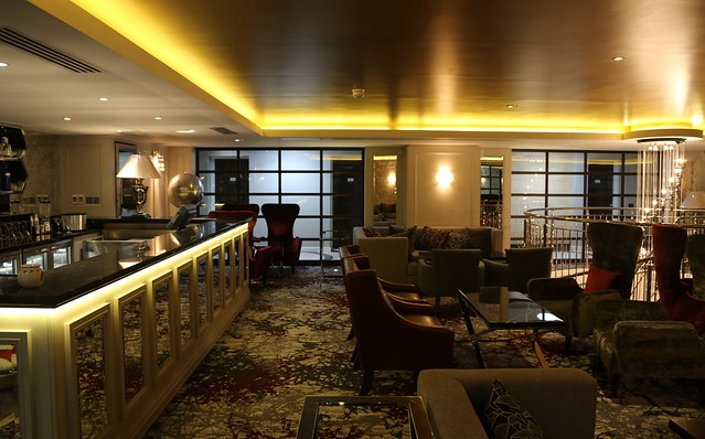 Mercure Greenwich - the bar