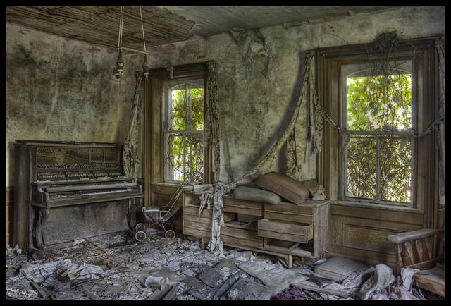 Lifeless Living Room