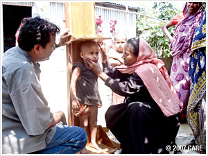 CARE-SHOUHARDO program