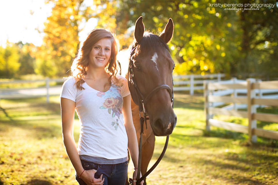 Senior Photography - Horse Ranch