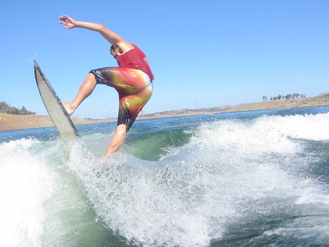 Early October Wakesurfing 635