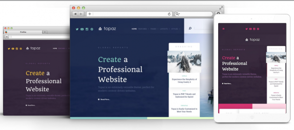 Topaz v1.0.2 - RocketTheme Premium Joomla Template