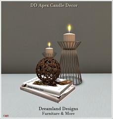 DD Apex Candle Decor Vendor