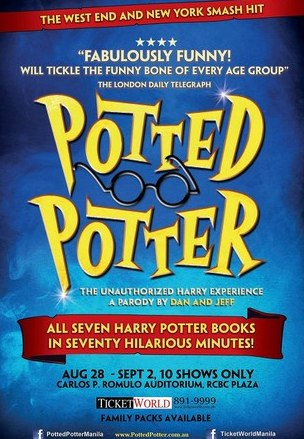 Potted Potter Comes to Manila @ ClickTheCity.com Events