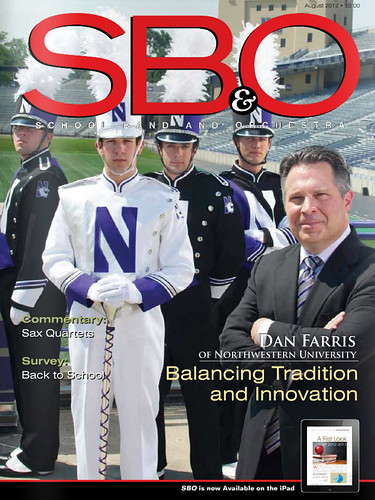 School Band and Orchestra Magazine Features NUMB