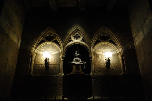 Sorting Hat, Harry Potter and the Forbidden Journey
