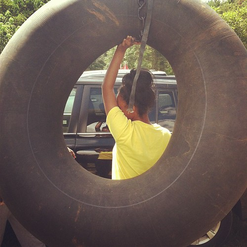 Biggest tube ever lol (so big we had to drive with it out the window!! Lol #hickscabintrip12