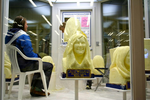 Butter Carving