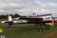G-YKSS - 901103 - Private - Yakovlev Yak-55M - 120826 - Little Gransden - Steven Gray - IMG_1546