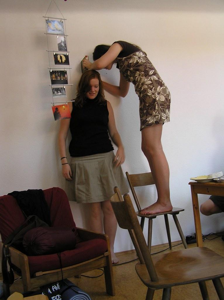 Tall small lesbian