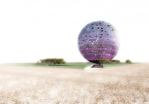 К чемпионату мира по футболу 2022 в Катаре возведут гигантский хрустальный шар