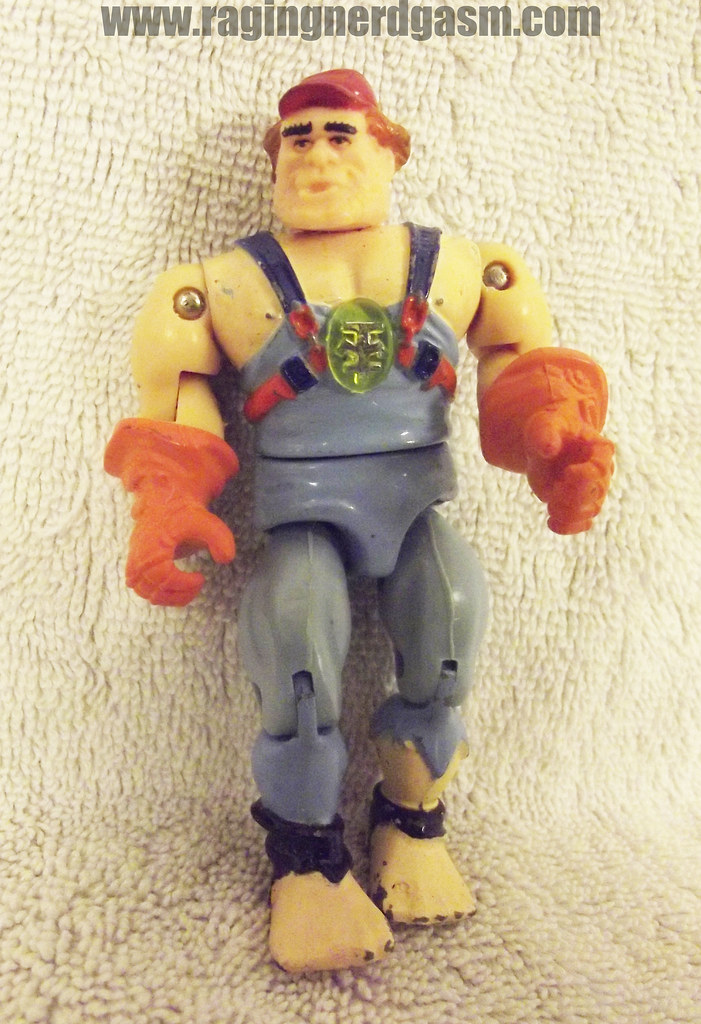Bionic 6 Action Figure Lose Mechanic LJN 005
