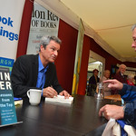 Gavin Esler book signing | Gavin Esler signs his book