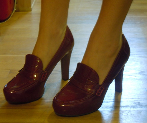 TJ Maxx burgundy pumps