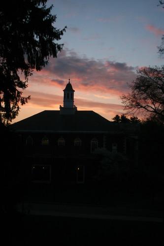 morning college nature beauty acdc sunrise campus poughkeepsie myroom jewett vassar 316 sleeplessnight viewfromthesuite 316b