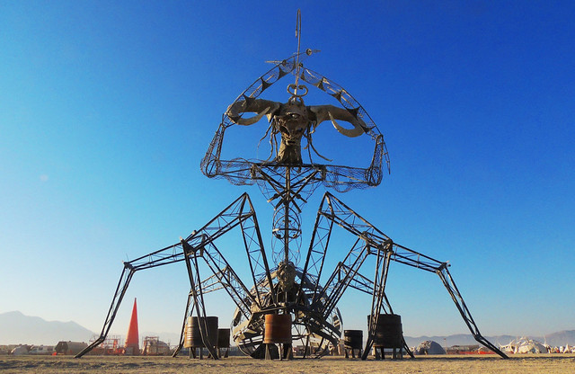 Burning Man 2012  -  Spider ghoul
