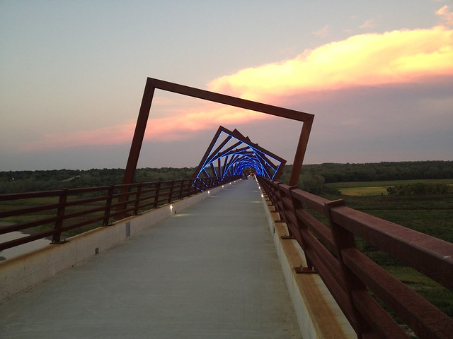 High Trestle Trail Ride in Iowa
