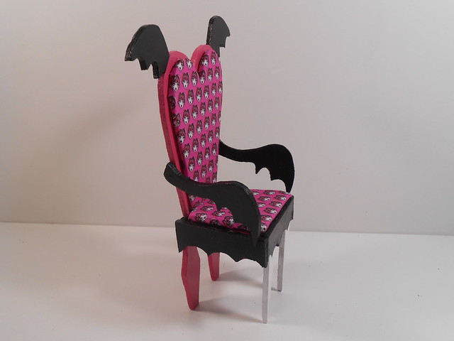 Monster High Furniture Draculaura Armchair 4 Flickr Photo Sharing