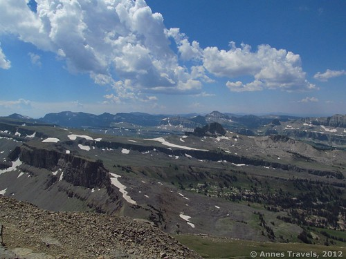 Looking south from Table Mountain, Grand Teton National Park/Caribou National Forest/Jedediah Smith Wilderness Area, Wyoming