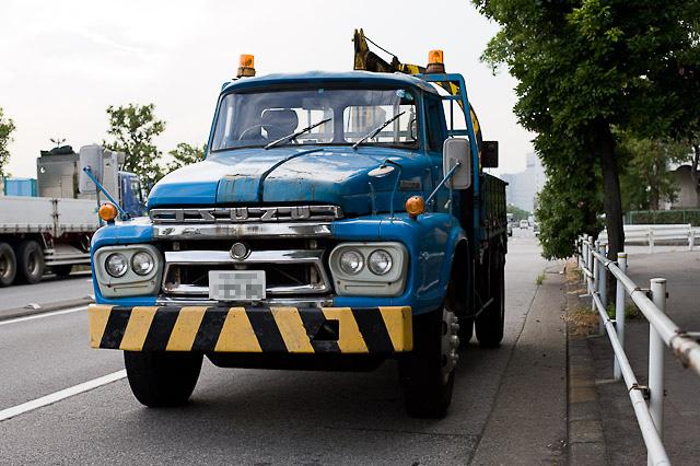 昭和44年式 いすゞ TD50改 レッカー