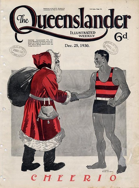 A Pictorial History of Santa Claus – The Public Domain Review