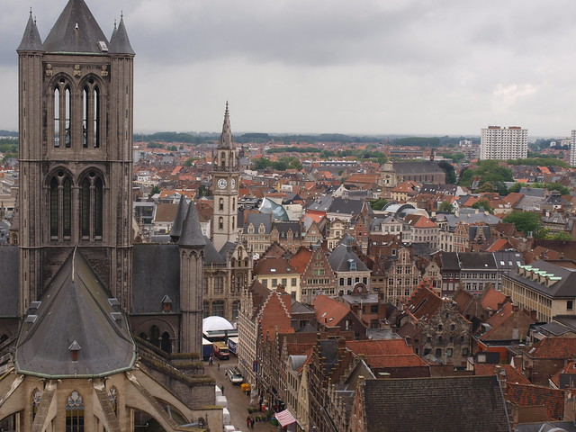 Ghent, Belgium by CC user nigel321 on Flickr