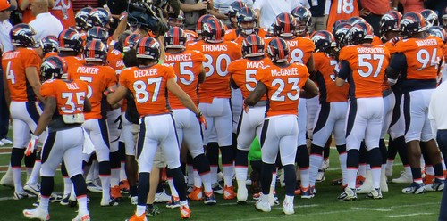 Team, Broncos vs Steelers 2012