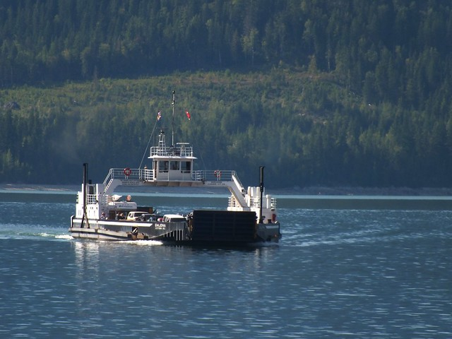 The ferry at Gelena Bay BC
