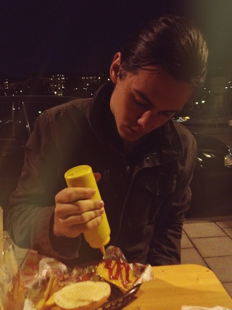 Babe with mustard