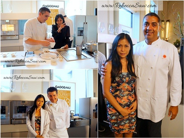 Bangkok World Gourmet Festival - michael mina, frederic vardon